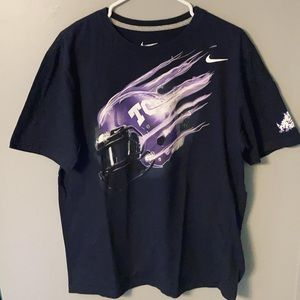 Nike TCU Horned Frogs Football T-Shirt (L)